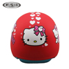 Cute decals girls safety helmet kids racing motorcycle helmets with visor