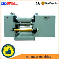 thermal conduction silicon rubber sheet calender