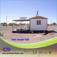 Cheap Chinese Prefabricated house prices with elevated base system