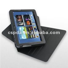 hot selling 360 rotation pu case for Samsung galaxy note 10.1/N8000