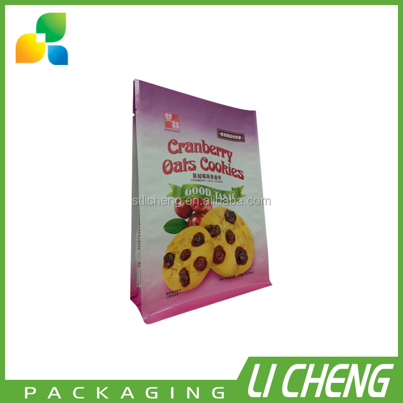 Flexible biscuit packaging material / cookie plastic packaging bag
