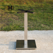 Adjustable stainless steel cafe table leg for sale