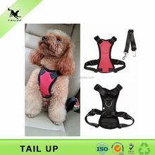 Car safety vehicle harness for dogs