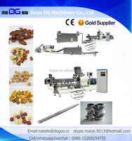 Nestle Kelloggs corn flakes twin screw extruder making machine