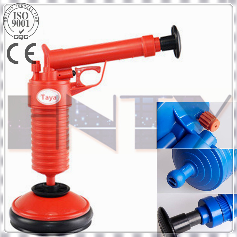 High quality toliet use hand press manual drain cleaning machine