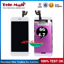 tianma for iphone 6 lcd screen replacment 4.7 High Quality LCD Display With Touch Screen Digitizer Assembly AAA quality