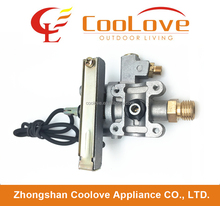 gas cooker stove burner aluminium safety control valve