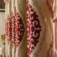 big factory specialize in jacquard curtain fabric and fashion curtain