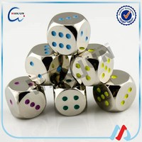16mm coloured dice