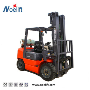 Hydraulic Transmission Container Mast 2 Ton gasoline/LPG/Gas Forklift With Solid Tire