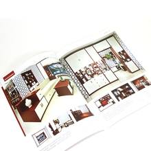 Professional manufacture catalog book printing