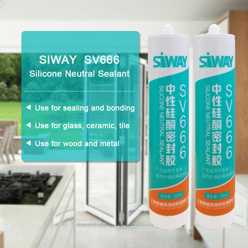 High strength fast dry glass silicone sealant from top 10 manufacturer in China