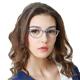 Fancy cateye glasses european style eyewear glasses designer optic frame