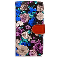 Retro painted PU flip leather with card slot phone case for iPhone 7/plus