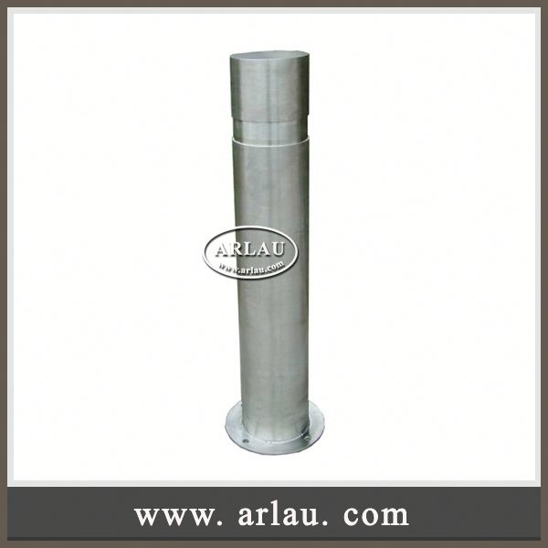 Arlau Stainless Steel Parking Bollard Tube, Bollard Barrier, Parking And Security Bollards