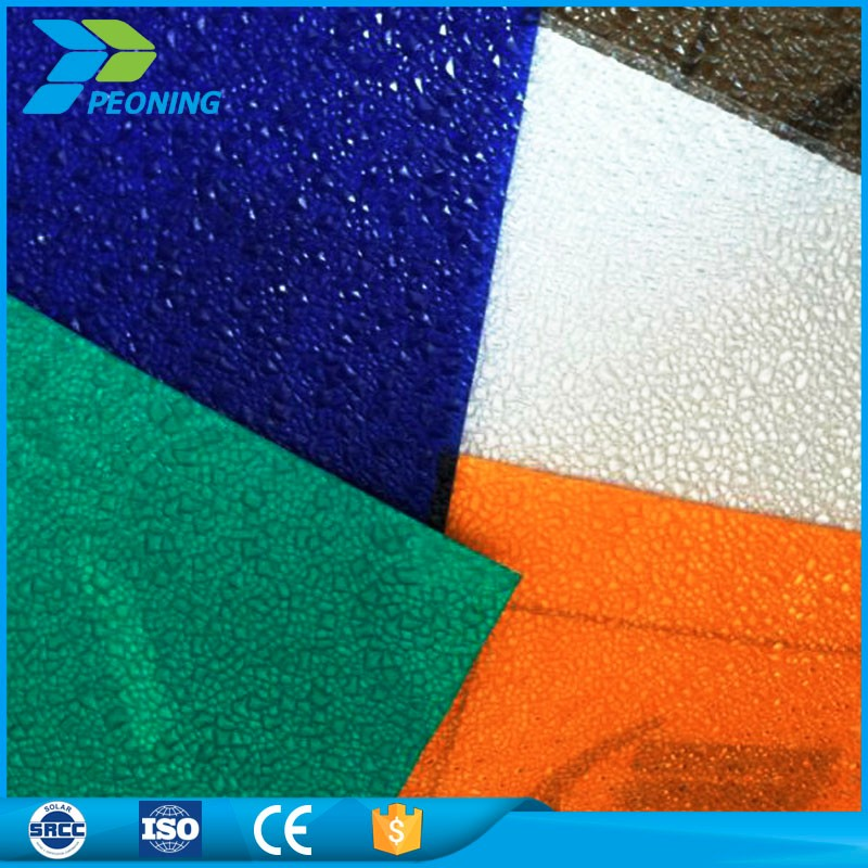 Cheap price polycarbonate roofing garage plastic raw material roof tiles