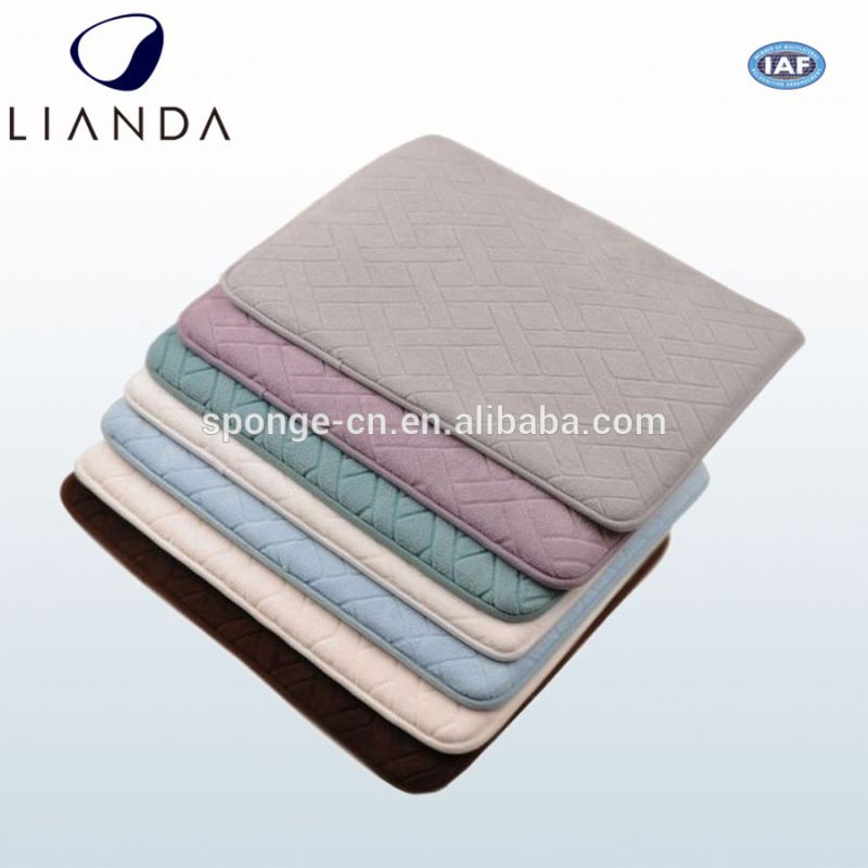 Anti slip refrigerator floor mat, pattern laminated floor mat, car's dashboard non-slip mat