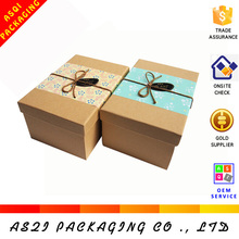 china supplier custom recyclable decorative paper covered boxes