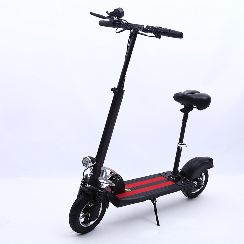 10inch big power 8-20A <strong>electric</strong> scooter for adult long driving distance range 350W battery bike with seat