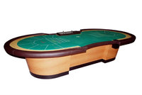 Luxury Baccarat Poker Table for 14 players