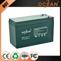Best price 12V 7ah high capacity professional dry cell battery ups