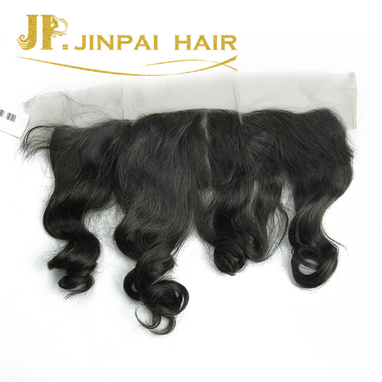 JP Hair Indian Loose Wave Frontal Lace Closure With Bundles