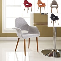 Wholesale Mid Century Modern Retro Designer Wood And Fabric Chairs
