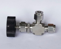 stainless steel 6000psi female male thread, water, gas,oil part needle valve