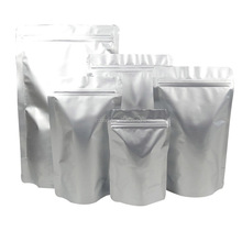 moistureproof pouch doypack aluminium foil PET AL PE standing up zip lock packaging bags