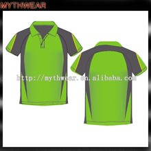 wholesale high quality cheap new design custom sublimated dry fit men golf polo shirt (Polo 011)