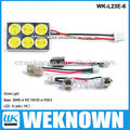 6LED 6W BA9S car led light &led car dome light & automotive dome light