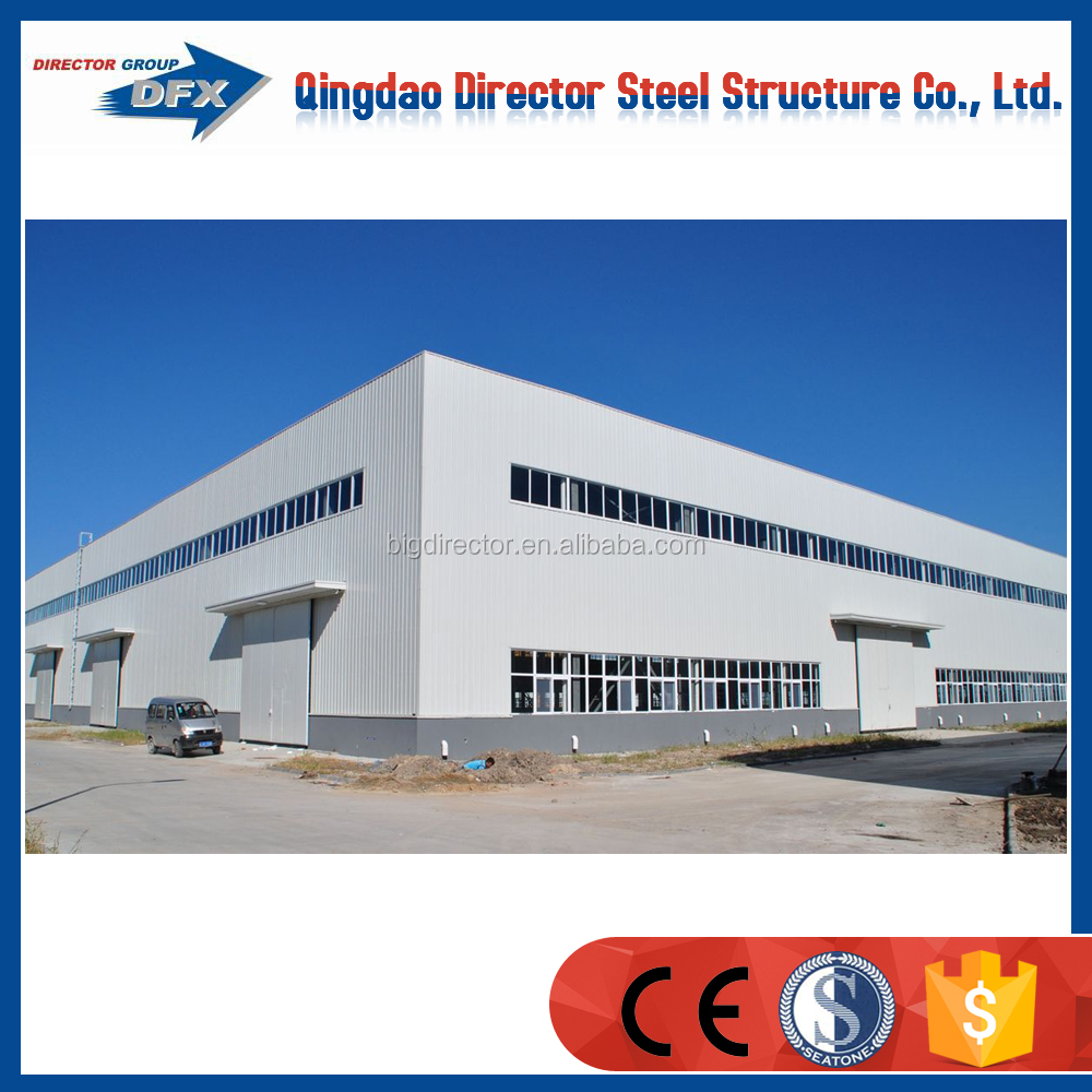 Prefabricated Steel Structure Insulated Warehouse