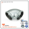 hot dipped galvanized malleable iron pipe fitting female 90 degree bend