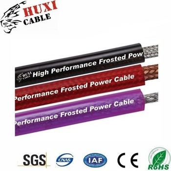 Haiyan Huxi Professional Manufacturer 110v Ac Underground High Voltage H05w-F Power Cables