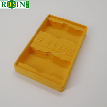 Disposable PS Vacuum Forming Blister Packaging Plastic Flocking Insert Tray For Medicine
