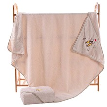 Wholesale Cheap 100% organic cotton baby towel with hood