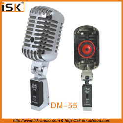 Vintage Style Dynamic Vocal Microphone DM-55