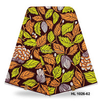 New design lady garment african prints fabric hollandais wax print 6 yards on sale