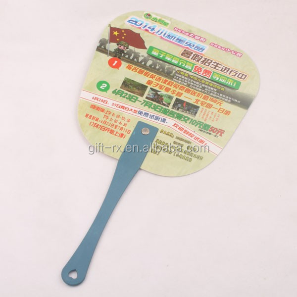 Chinese supplier pp hand fan