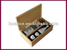 Elegant Wooden Wine Presentation Boxes