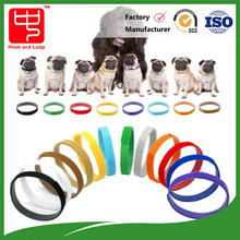 hook and loop back to back tie strap for pet dog