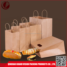 Direct factory die cut paper carry bag low cost custom kraft paper shopping bag with handle