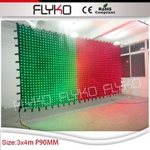 Flexible folding install led display for backdrop