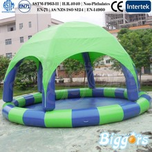 China Inflatable Tent With Pool For Children
