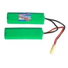 Customized aa 4000mah rechargeable battery 9.6V 2300mah NIMH Battery Pack
