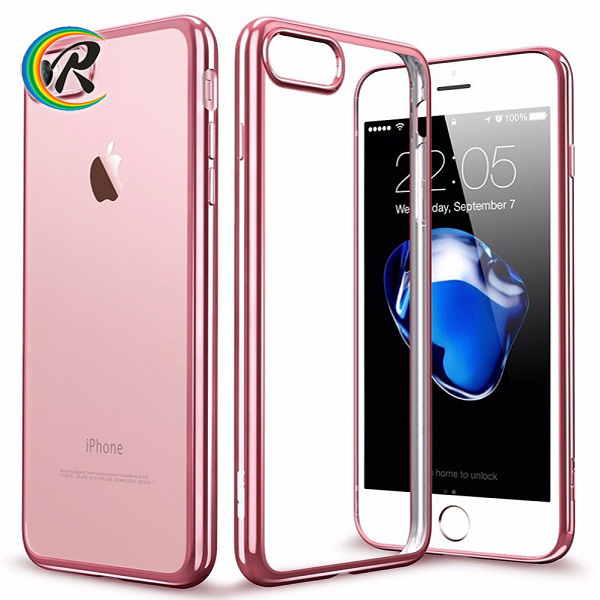 Free Sample Mobile accessories smartphone case for iphone 7 plating tpu case