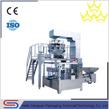 SGB200-GD6 Dried Mango Automatic Rotary Packaging Machine Unit