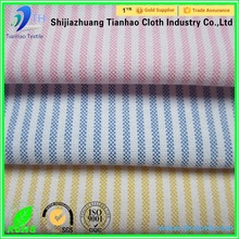 21s/2 combed cotton Stripe Oxford spinning cloth