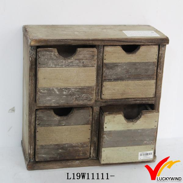 wood colored narrow 4 chest of drawer for storage