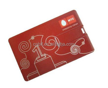 Escrow accepting custom logo high quality full capacity low price 2gb business card usb